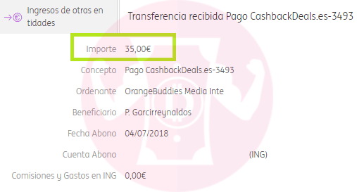 cashbackdeals pago