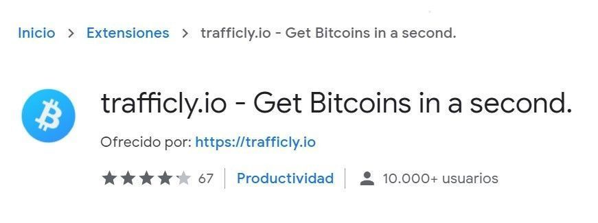 trafficly.io extension